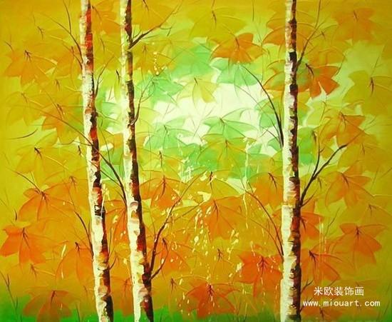春夏秋冬四季景色